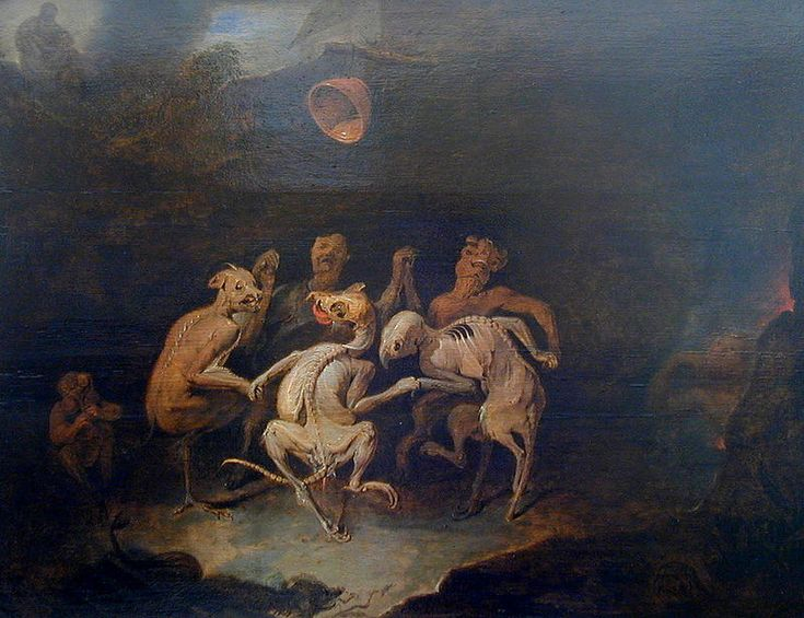 David Ryckaert The Younger - La ronde des Farfadets de Les Farfadets - 17th C