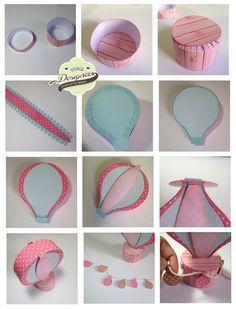 Caixinha balão   Silhouette Brasil - Blog