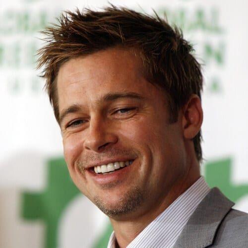 50 verschiedene Brad Pitt Frisuren – Männer Frisuren Welt –  – #Kurzhaarfrisuren