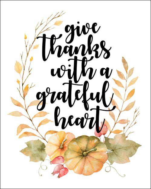 image regarding Happy Thanksgiving Signs Printable identify Thanksgiving No cost Printable - Watercolor Thanksgiving