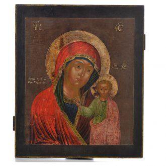 Icona russa antica Kazan XVIII secolo | vendita online su HOLYART