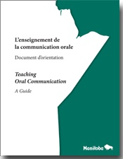 NEW and FREE for French teachers! L'enseignement de la communication orale - Document d'orientation / Teaching Oral Communication - A Guide