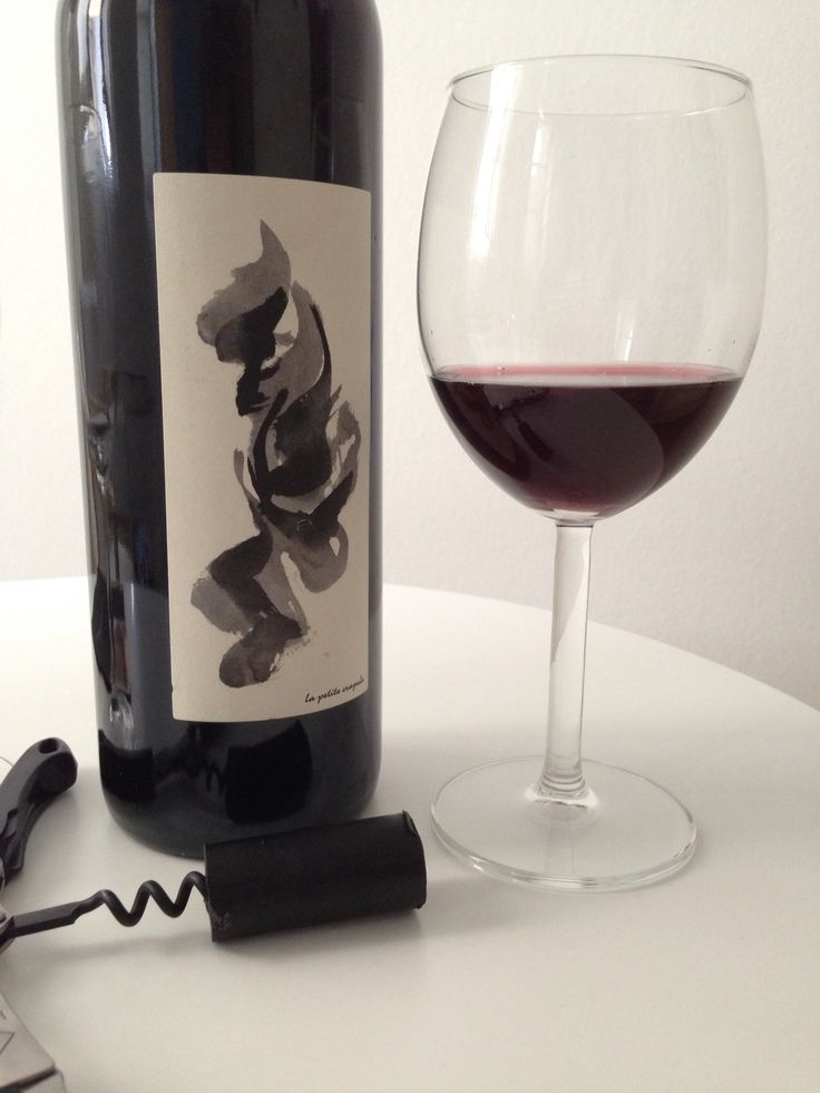 100% natural Carignan from a little wine shop in Montpellier