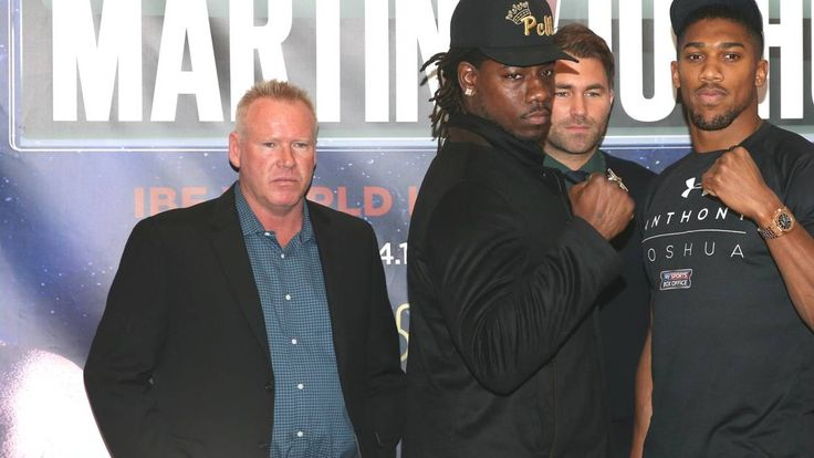 Charles Martin v Anthony Joshua: IBF heavyweight title fight, plus undercard - BBC Sport