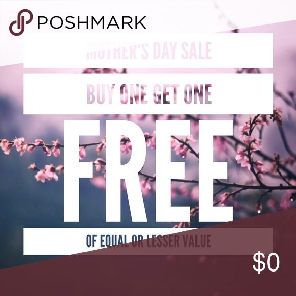 ENTIRE CLOSET BOGO SALE 🎉 Buy one and get one item of equal or lesser value for free! What to do: Bundle your items together (any multiple of 2 is eligible) and make an offer of the full value of the most expensive item(s). ASOS Tops