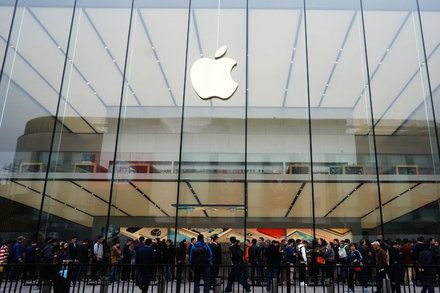 IPhone Sales Drop and Apples 13-Year Surge Crests Revenue fell 13 percent to $50.6 billion as sales of the companys flagship product fell with little else to take its place. Technology Company Reports