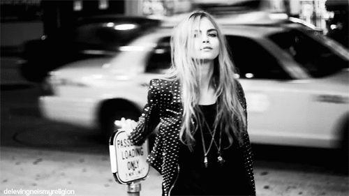 favorite model: Cara Delevingne
