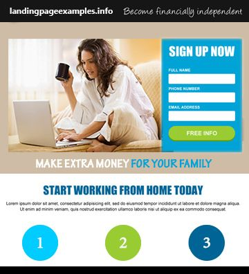22 best landing pages examples images on pinterest landing page premise landing page templates pronofoot35fo Choice Image