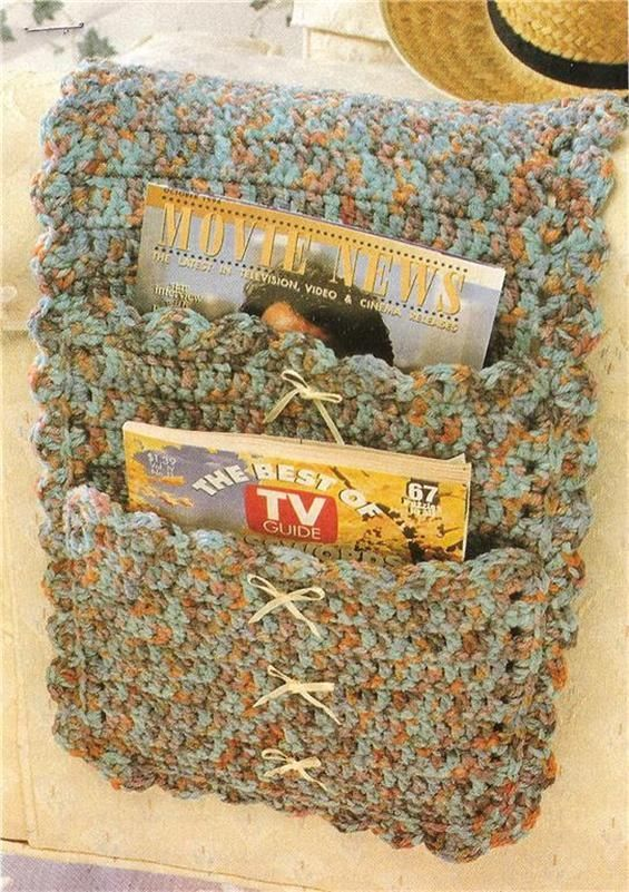 Country Ribbons Armchair Caddy Crochet Pattern Ebay