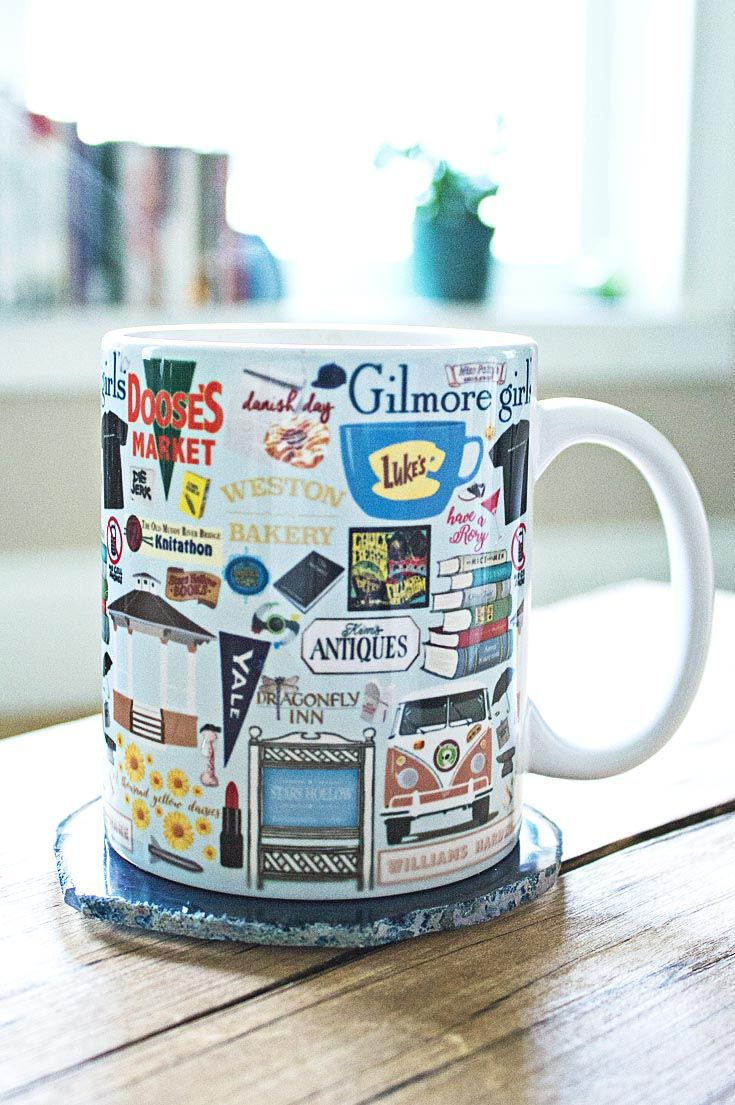 "Gilmore Girls Mug. all things Gilmore Girls… ""what is a danish without coffee?"" ""saddle shoes are not the best all weather footwear."" ""where did all the anvils go?"""