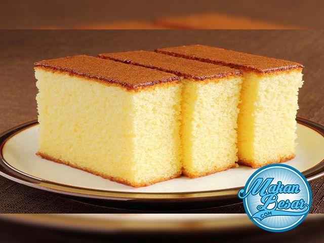 Resep Sponge Cake Lembut