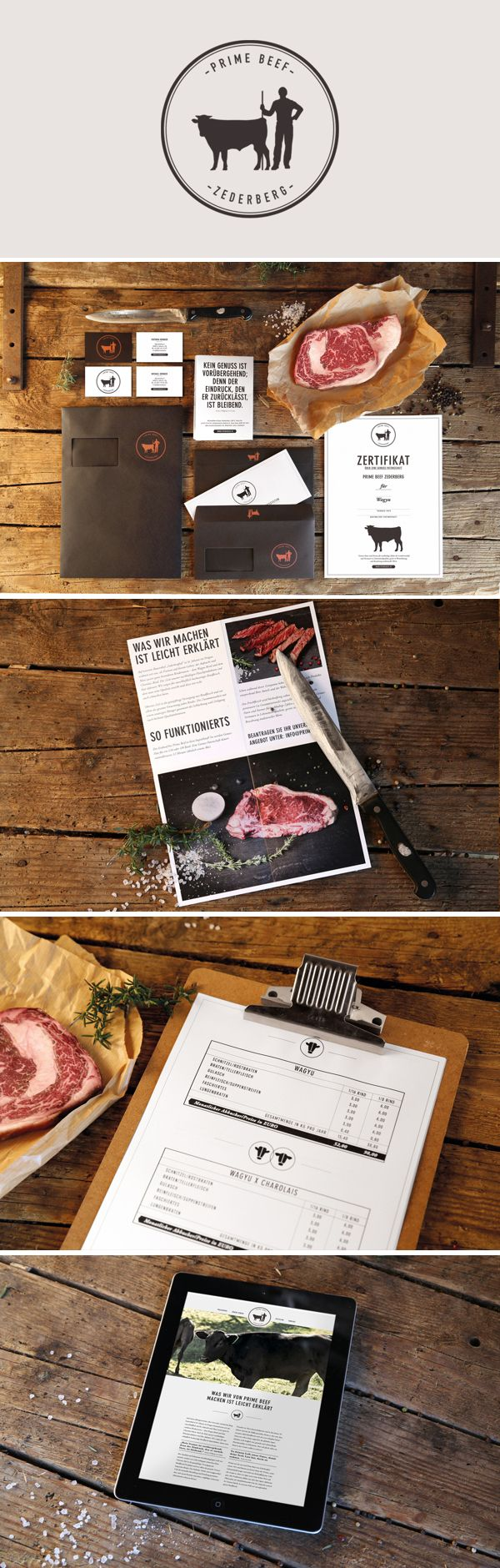 pinterest.com/fra411 #identity / prime beef / farm / meat / butcher
