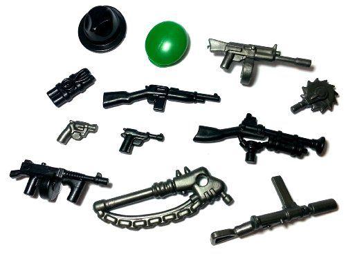 lego pistol instructions easy