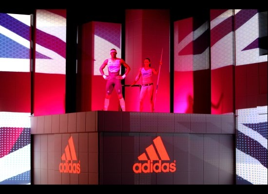 UK-Stella McCartney Olympic Uniform fashion show