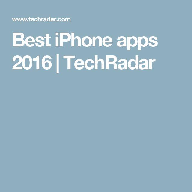 Best iPhone apps 2016 | TechRadar