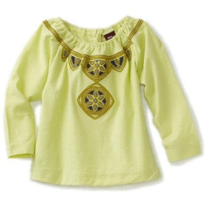 Tea Collection Baby-Girls Infant Celuk Embroidered Top $36.00