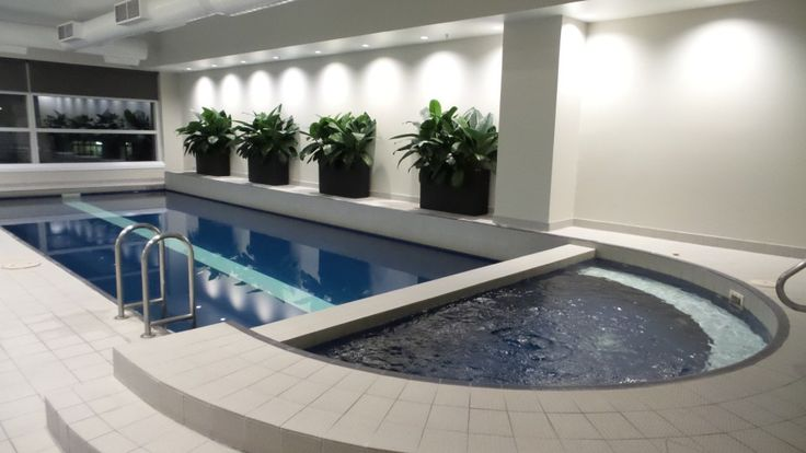 Indoor Pool at the Parkroyal Melbourne Airport Hotel, Melbourne, Australia