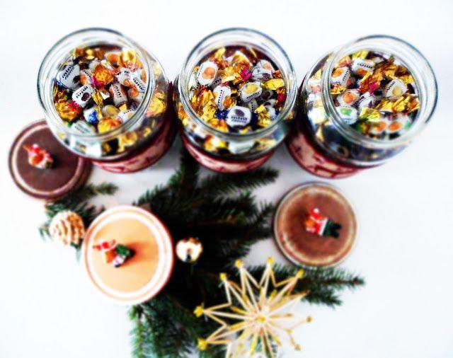 NB Kreatív Manufaktúra: Befőttes üveg, mint karácsonyi cukorkatartó
