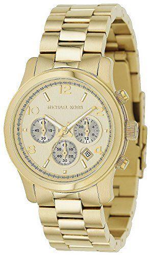 Michael Kors Copper Midsized Round Dial Chronograph Women Quartz Wristwatch Mk50...