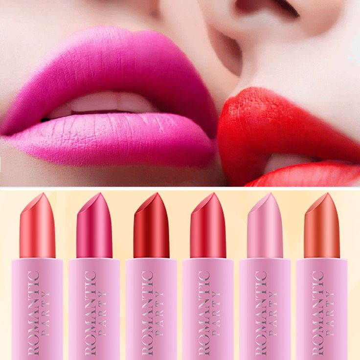 Sample Size Beauty Sexy Red Lips Make Up Pigments Matte Lip Stick Waterproof Nude Velvet Matte Lipstick Makeup Cosmetics