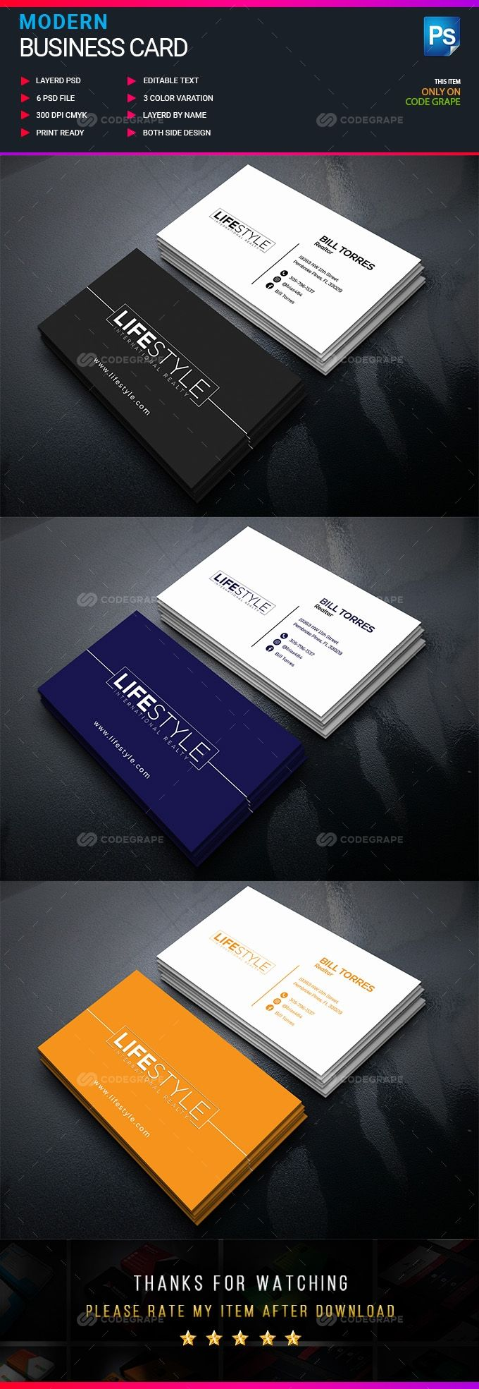 Corporate Business Card In 2021 Corporate Business Card Text Fonts Corporate Business