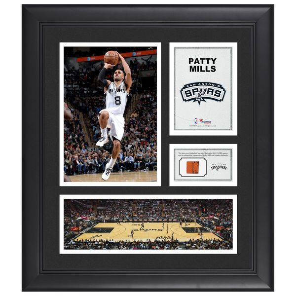 """Patty Mills San Antonio Spurs Fanatics Authentic Framed 15"""" x 17"""" Collage with Team-Used Ball - $79.99"""