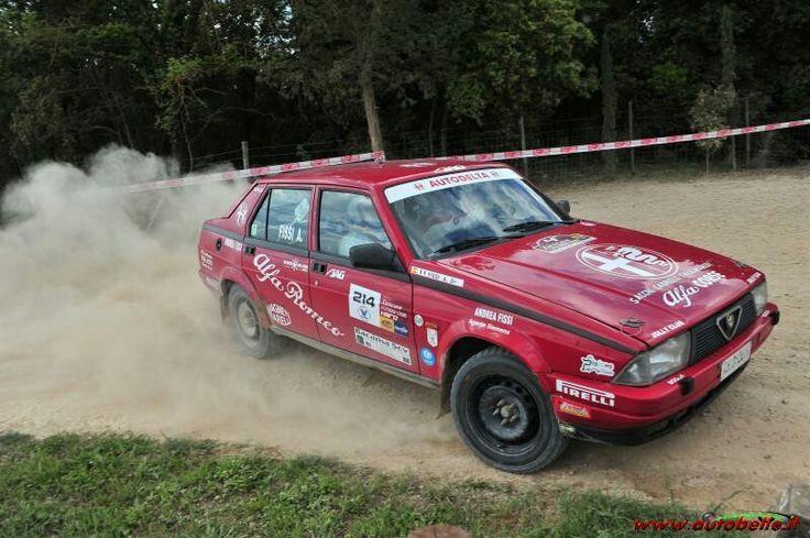 Alfa Romeo 75 turbo rally