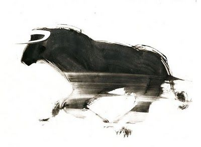 love slightly abstracted bulls