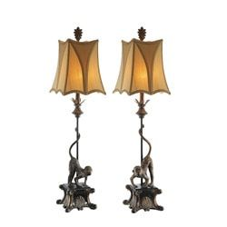 Shop for Italian Monkey Table Lamps (Set of 2). Get free shipping at Overstock.com - Your Online Home Decor Outlet Store! Get 5% in rewards with Club O!