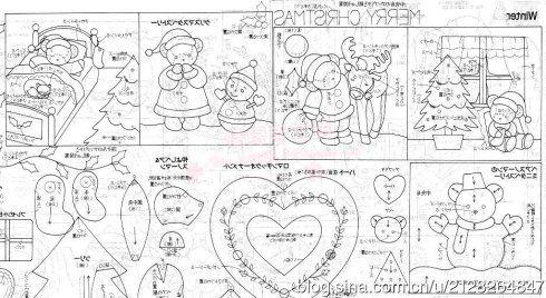 [转载]【图纸教程】片山直子小物图纸