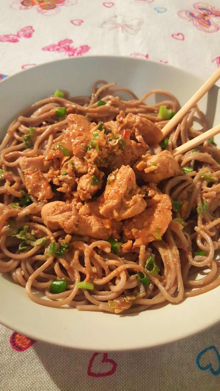 Teriyaki Chicken and Soba Noodles - One Fool Pie