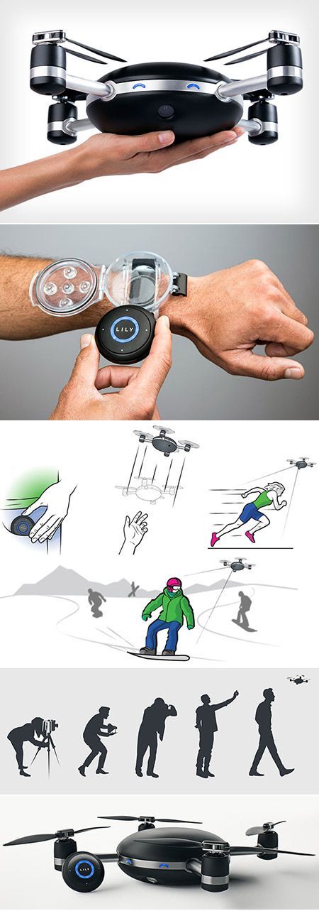 Best Drone Images On Pinterest Drones Drone Technology - Wearable drone camera can take wrist snap epic selfies