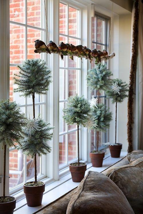 christmas topiary decor
