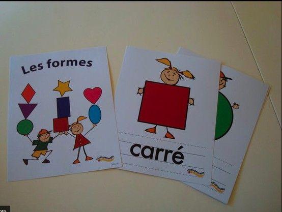 Affiches sur les formes  http://lindispensable.ca/Produits/Lesformes.aspx