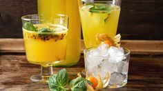 This Brazilian passion fruit cocktail is a vacation in a glass