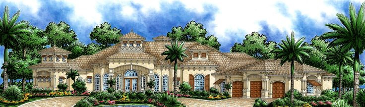 <!-- Generated by XStandard version 2.0.0.0 on 2013-06-19T15:50:20 -->    <ul>  <li>This very special Mediterranean home plan is chock full of marvelous extras to delight homeowners.</li>  <li>Tray ceilings top most rooms in the house and a secluded rec room helps keep noise away from the rest of the house.</li>  <li>A fabulous outdoor area has a summer kitchen, fireplace and sauna with pool storage nearby.</li>  <li>Inside, the living room and family rooms are huge, with sliding glass…