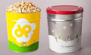 Groupon - Popcorn and Tins at Doc Popcorn (35% Off). Two Options Available.  in Los Angeles. Groupon deal price: $13
