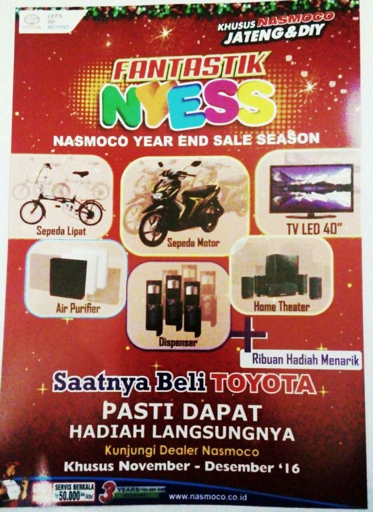 Promo Toyota Nasmoco Semarang
