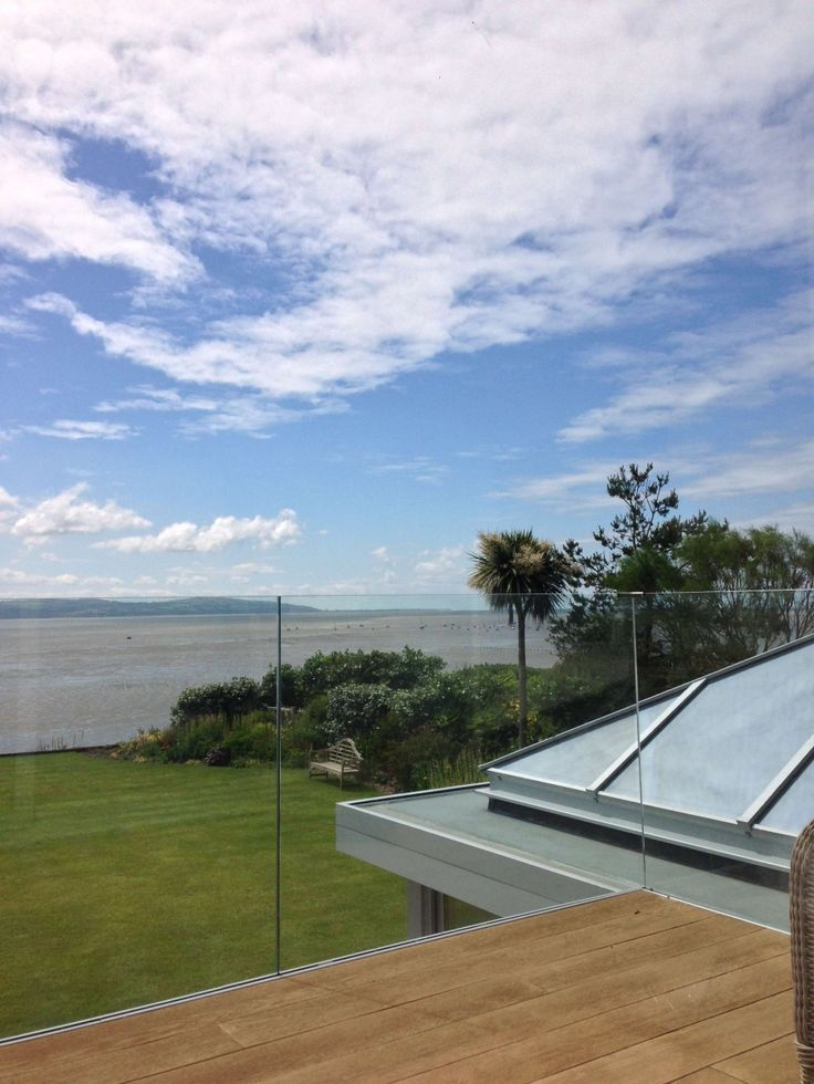 Glass Balustrade with a view
