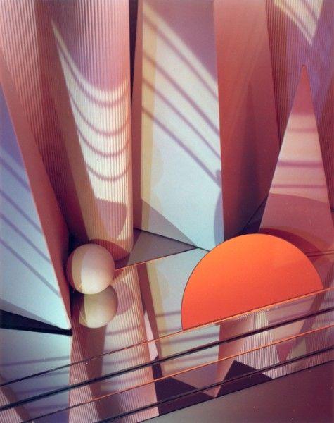 Barbara Kasten mirrors, columns, pyramids, and spherescreative-day:Barbara KastenConstruct NYC 11