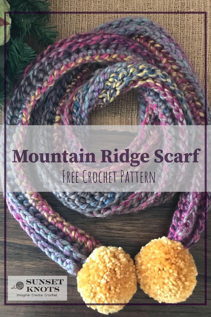Mountain Ridge Scarf