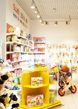 Toy store design in Bytom POLAND - archi group. Sklep z zabawkami w Bytomiu.