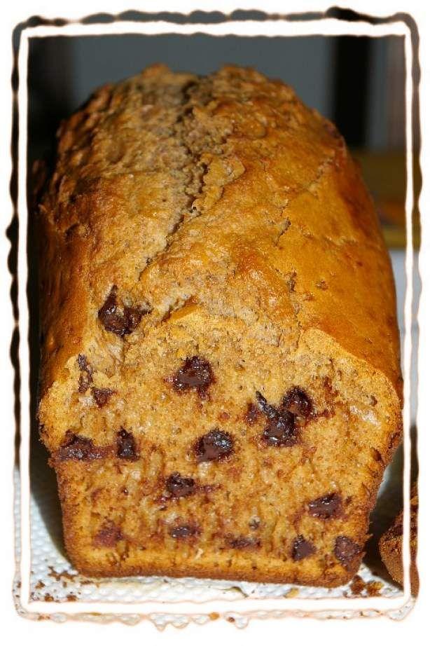 Thermomix: Cake aux pépites de carambar et chocolat + photo