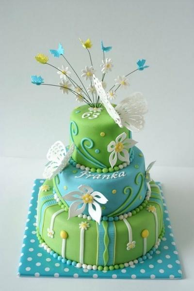 Spring  By jolandatielemans on CakeCentral.com