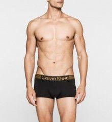 Calvin Klein černé pánské boxerky Low Rise Trunk