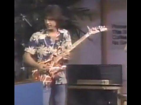Eddie Van Halen on Letterman Playing his Famous Marshall Plexi EXTENDED