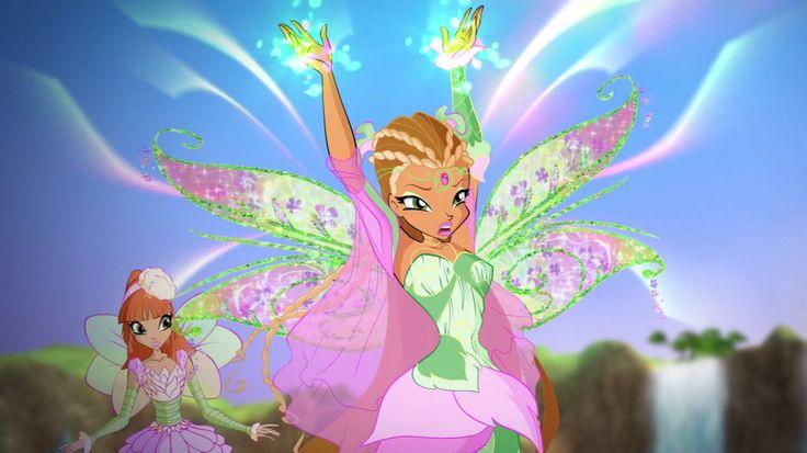 Flora & sister Miele - fairies - Winx Club