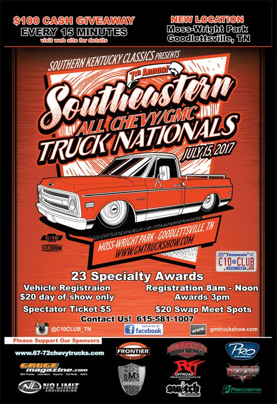 GM Truck Show | All GM truck show in TN