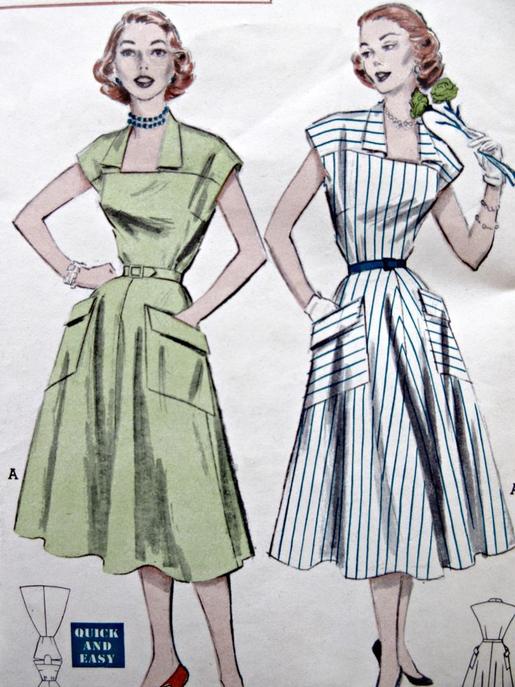 156 best 1950s Sewing Patterns images on Pinterest