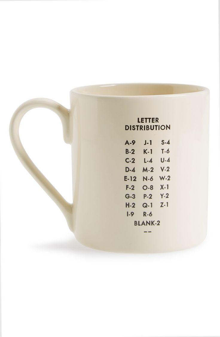 Wild and Wolf 'Scrabble' Mug